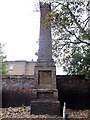 TQ3774 : Obelisk in St Mary's churchyard by Stephen Craven