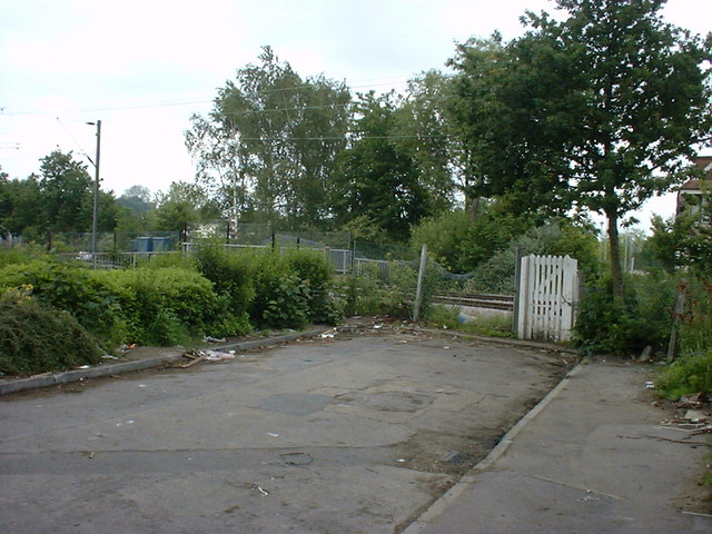 The Site of Chingford Hatch Level Crossing