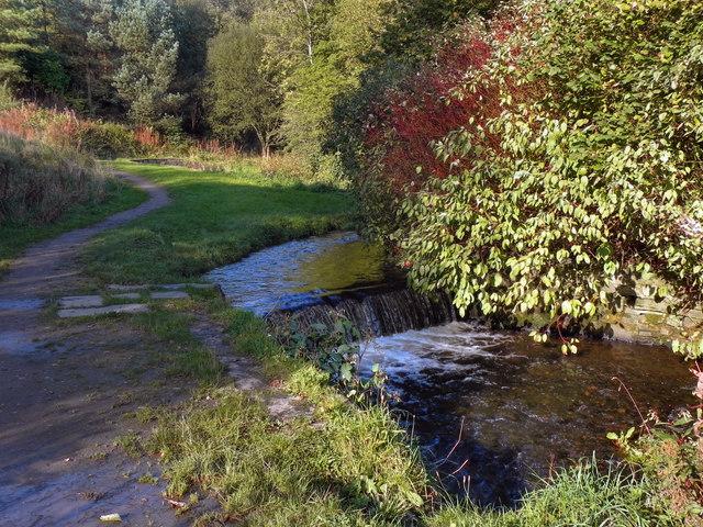 River Medlock Weir Leesbrook David Dixon Cc By Sa 2 0