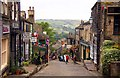 SE0337 : Main Street in Haworth by Steve Daniels