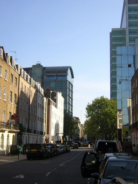 Gower Street across Euston Road, WC1