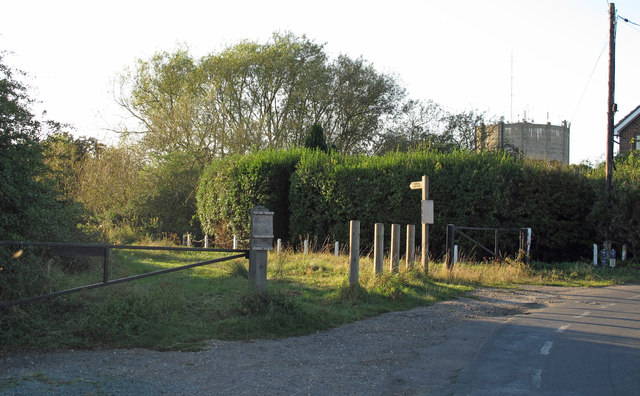 Rye Hill entrance to Epping Long Green