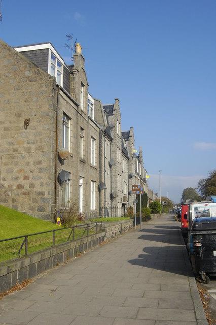 Granite block, Holburn Street, Aberdeen