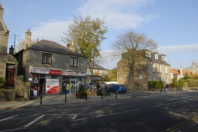Corner shops, Aberdeen style