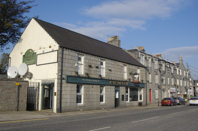 The Abergeldie Bar, Holburn Street, Aberdeen