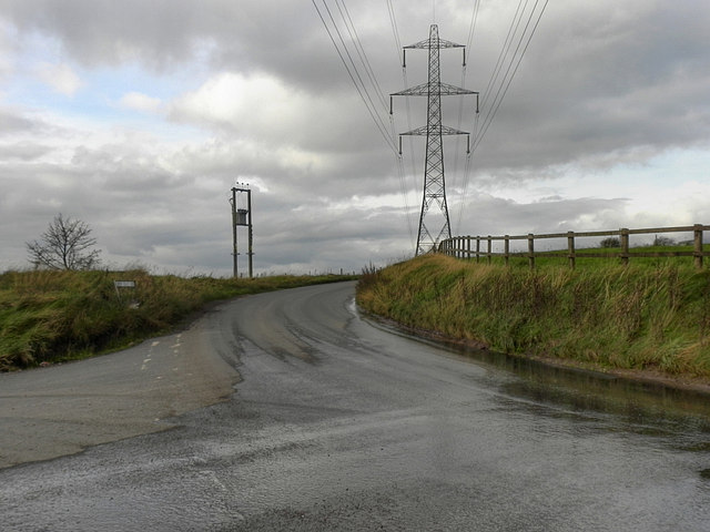 Broad Head Lane at Broad Carr