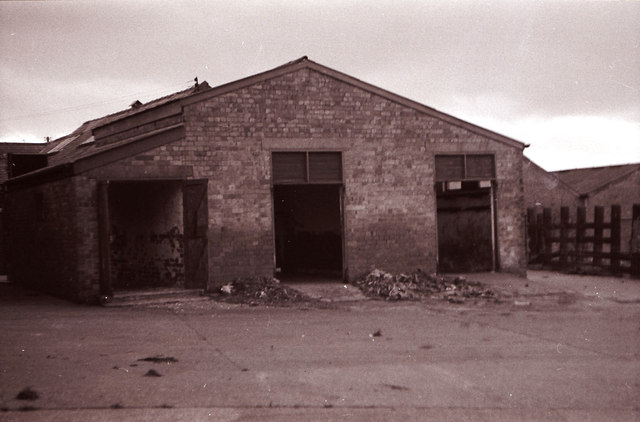 Offal & Skins Sheds of the former Gwent Abattoir