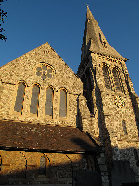 St John the Baptist, Eltham: west end