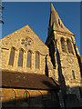 TQ4274 : St John the Baptist, Eltham: west end by Stephen Craven