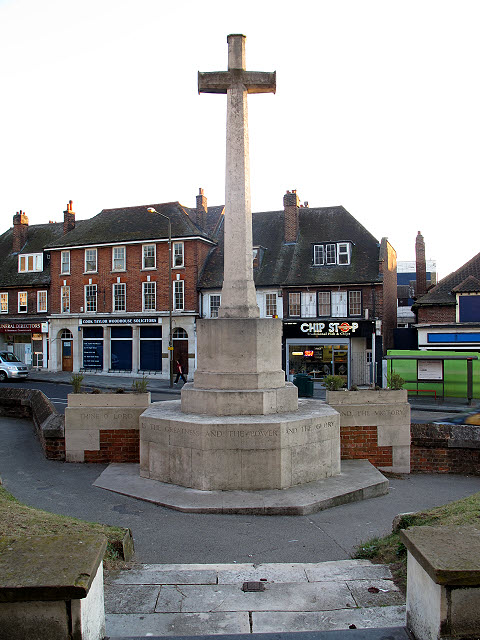 St John the Baptist, Eltham: war memorial