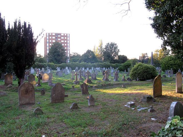St John's churchyard, Eltham