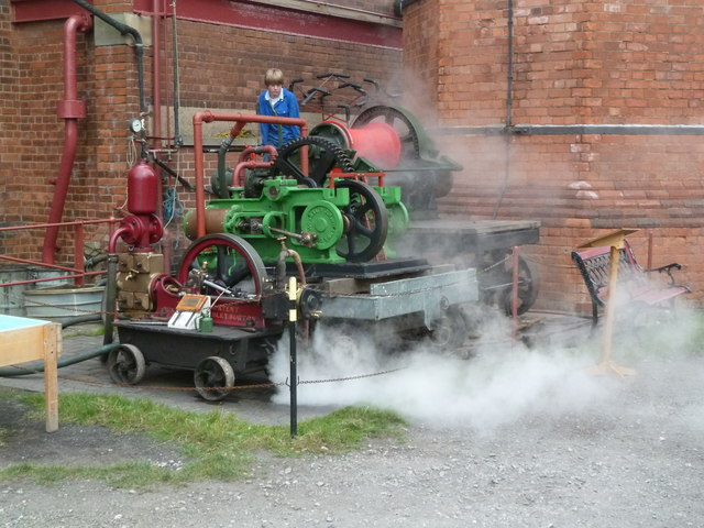Claymills Victorian Pumping station - warming the outdoor exhibits