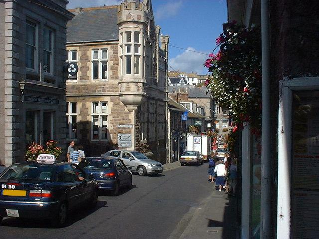 Tregenna Hill, Saint Ives, Cornwall