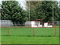 NO1024 : Dugouts, Tulloch Park, home of Kinnoul Football Club, Perth by nick macneill