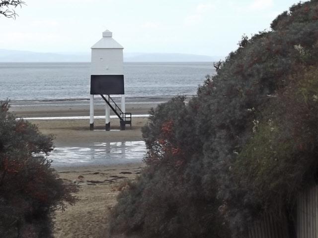 Wooden lighthouse, Burnham on Sea