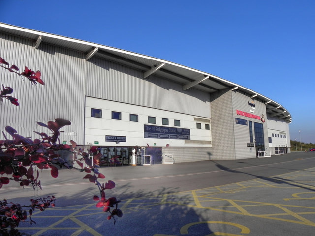 Keepmoat Stadium, Polypipe Stand