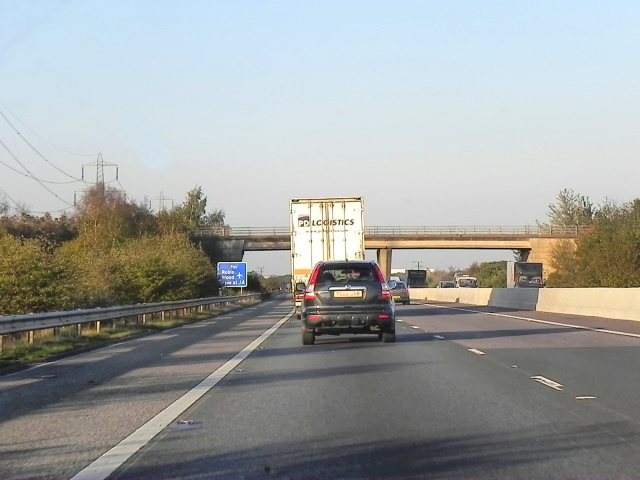 Northbound M18, Cantley Common