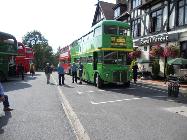 Royal Forest Hotel Rangers Road (A1069) Chingford Bus Rally
