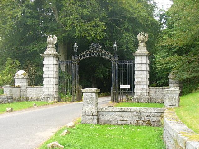 Gateway at Dunecht