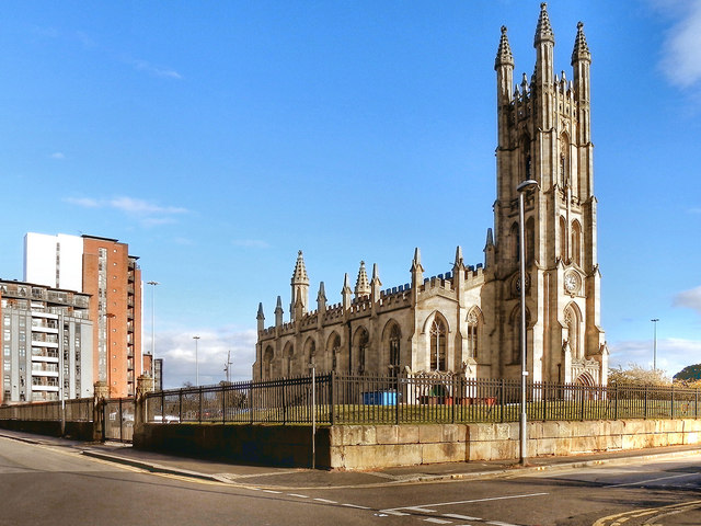 The Church of St George, Hulme