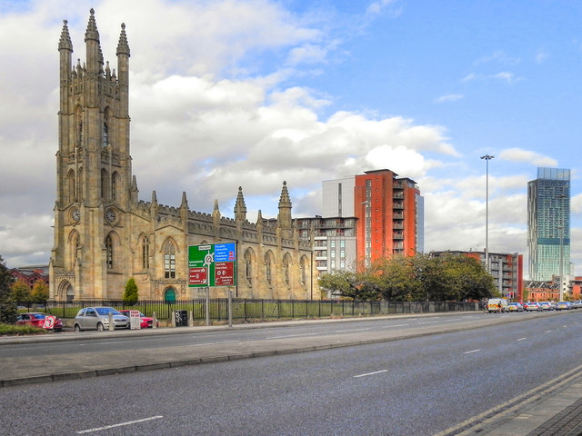 Church of St George, Chester Road, Hulme