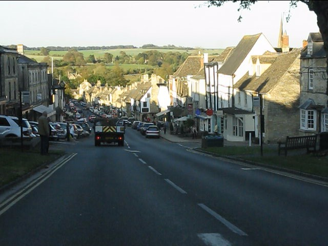 Burford - the main road