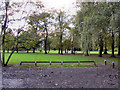 SJ8094 : Longford park, Stretford by David Dixon