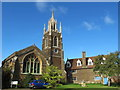 SP9433 : The old St. Mary's Church, Bedford Street by Mike Quinn