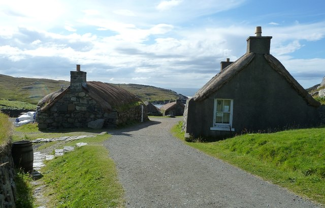 Gearrannan Blackhouse Village - Main Street