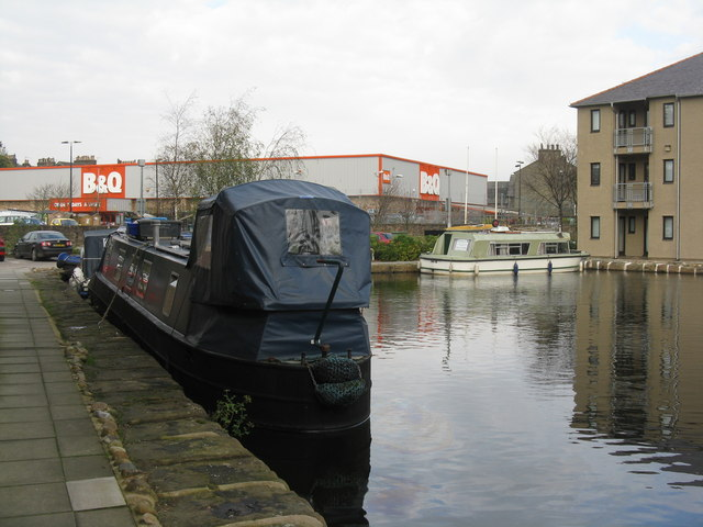 Lancaster Canal at Chancellor's Wharf