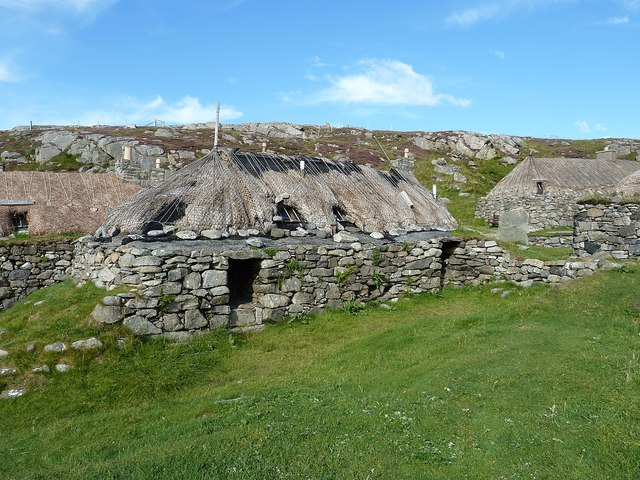 Gearrannan - Blackhouse requiring attention