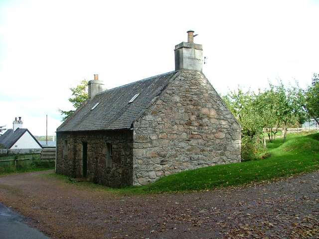 Traditional cottage at Wester Galcantray