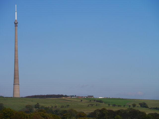 Emley Moor Television Transmitter And Surroundings