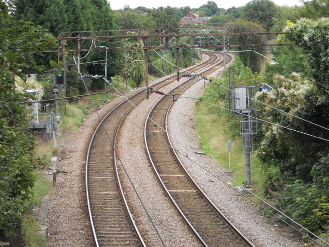 Liverpool Street to Chingford Branch at Shernhall Street Walthamstow