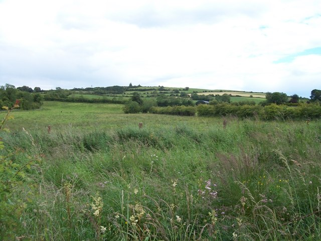 Undulating landscape west of the R164 at Ughtyneill