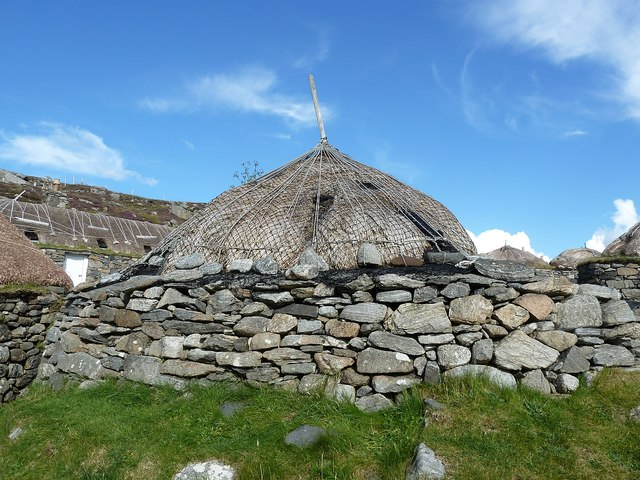 Gearrannan - End of a blackhouse