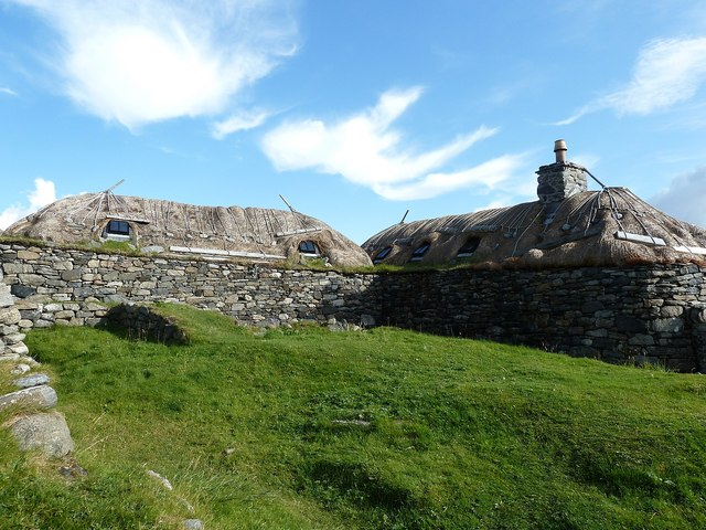 Gearrannan - Blackhouses on the hill