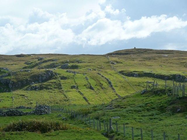 Gearrannan - Crofting land strips