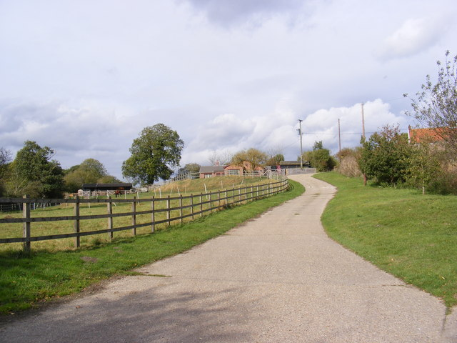 The  Entrance to Church Farm & West Cottage
