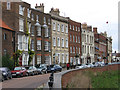 TF4509 : Wisbech - Georgian terrace on North Brink : Week 42