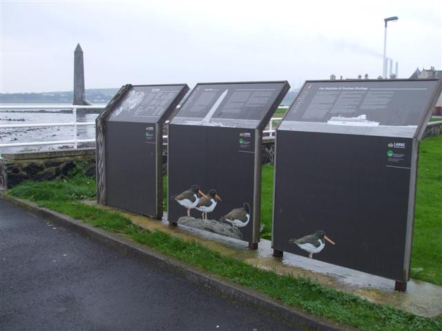 Information panels, Larne