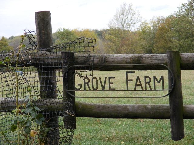 Grove Farm sign