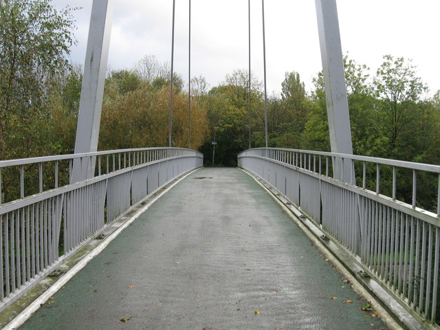 Foot bridge over Birchwood Park Avenue, Warrington