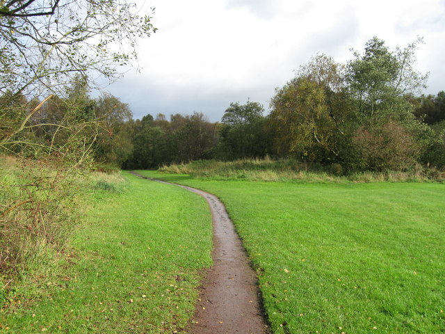 Foot path, Birchwood Brook Park