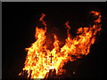 TQ8109 : Bonfire on Pelham Beach by Oast House Archive