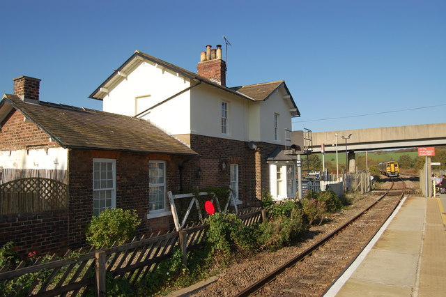 Old Station House at Seamer station
