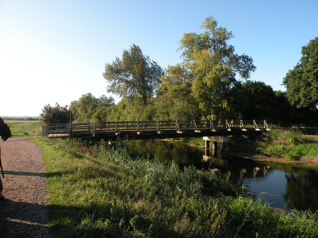 Bridge over the Great Raveley Drain