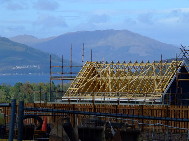 Building site at Inverkip