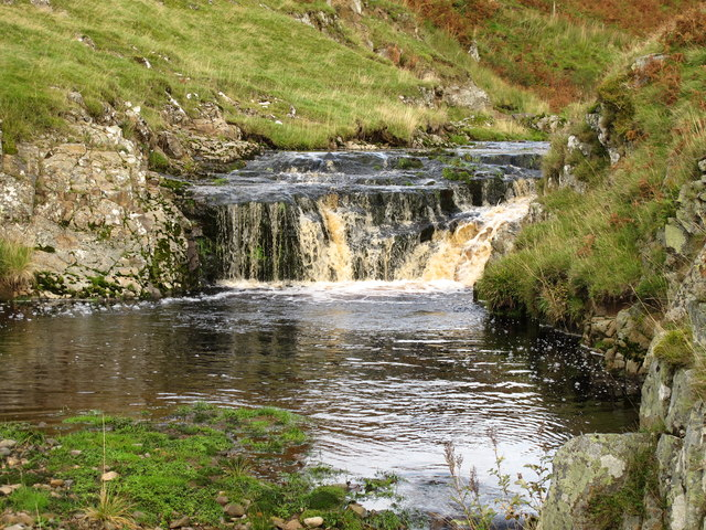 Waterfall on the Usway Burn