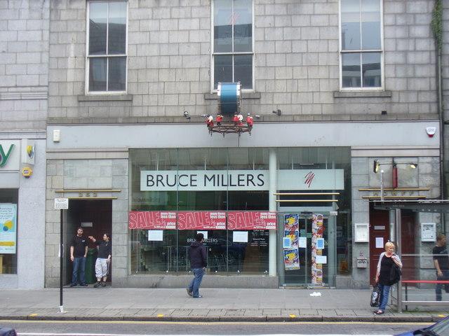 Bruce Millers, Aberdeen